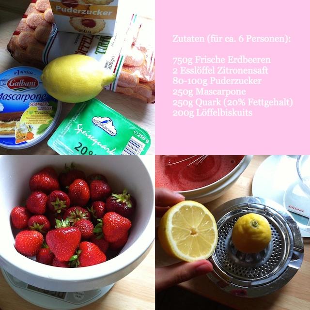 Erdbeer-Tiramisu Rezept Einfach Sommer