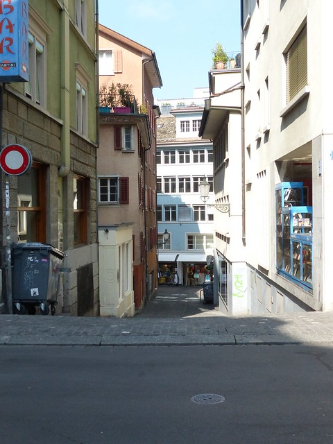 Zürich Downtown Street
