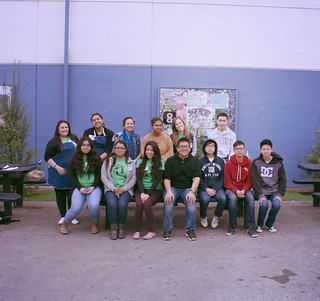 Castlemont & Oakland HS Team up for a Waste Audit Feb. 2014