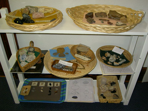 Rock Unit (Photo from Inspired Montessori and Arts at Dundee Montessori)