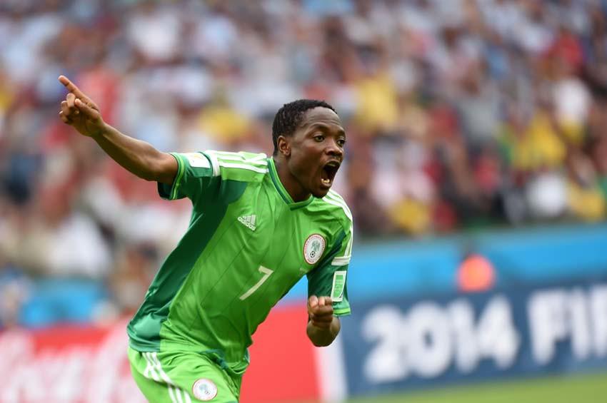 (69)BRASIL-PORTO ALEGRE-MUNDIAL 2014-NIGERIA VS ARGENTINA