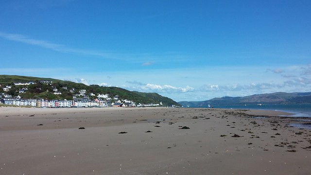 Aberdovey beach