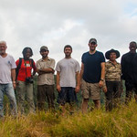Tafelberg Team 2013: L-R: Fabian, Bert, Paul, Vanessa, Julian, Devin, Andrew, Hermina, Spears, Mani, Uwawa. Photo by Fabian Michelangeli.