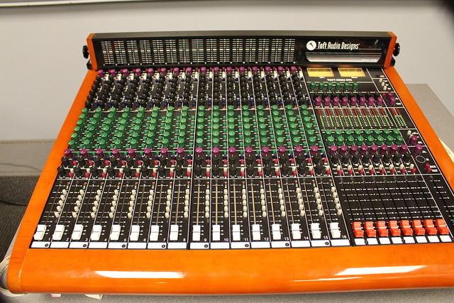 Audio Lab Control Room Toft ATB