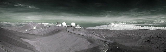 Infrared Panorama of 10m Ridge