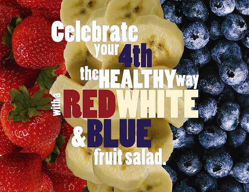 Go red, white and blue, all the way to dessert!