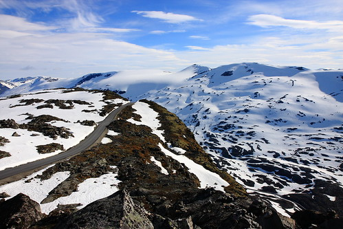 road mountain snow norway landscape norge mt view norwegian mount end dalsnibba
