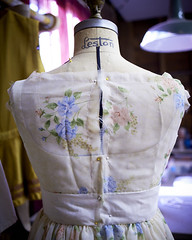 Behind the Scenes at TAM - Dress-making in the costume shop!