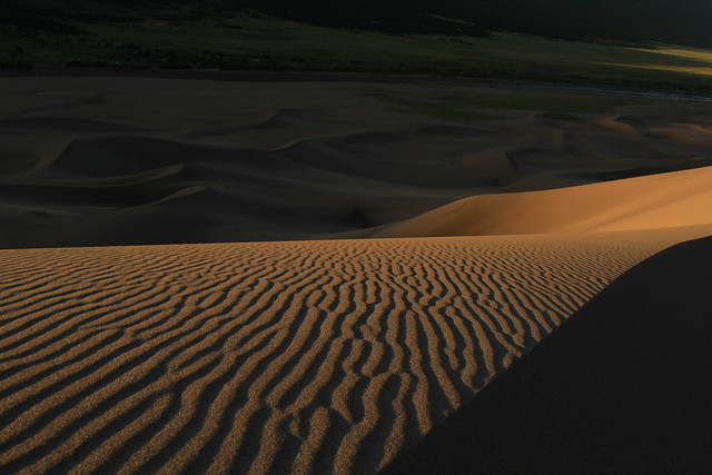 Landscape photography Number 15: Sunrise Great Sand Dunes