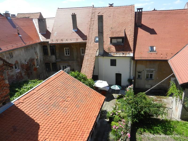 Дома и дворы города Птуй