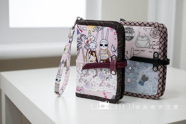 兔子和粉紅時尚護照套1