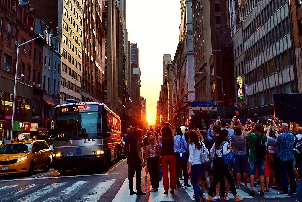 Manhattanhenge, 07.11.14