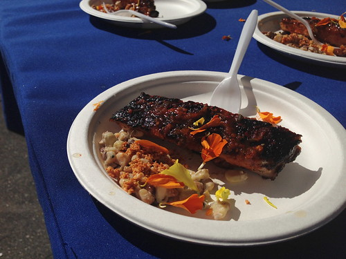 Chef Chris Oh at Food GPS Rib Festival