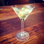 ... And a mini-Martini for L's mini-Happy Hour #hantzhouse