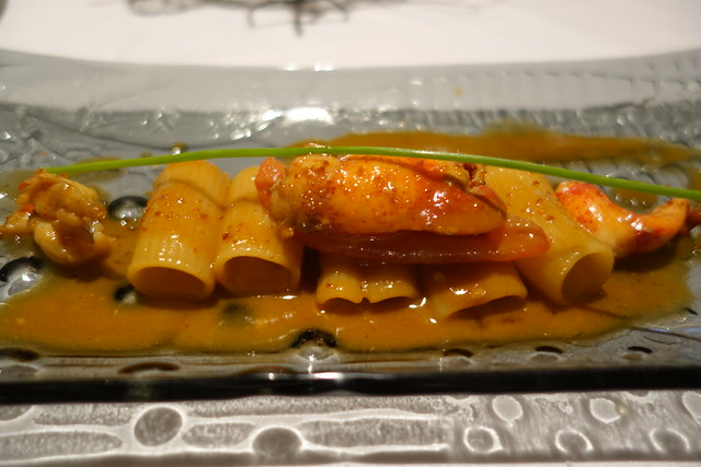 Rigatoni Astice: Rigatoni with Boston Lobster & Bisque - Gaia Ristorante, Goodwood Park Hotel
