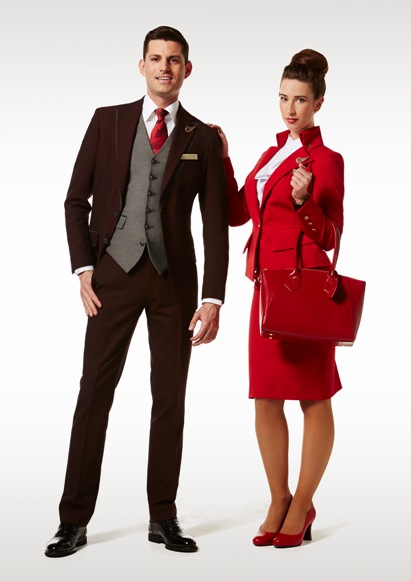 Virgin Cabin Crew uniforms Vivienne Westwood