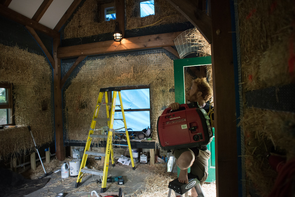 Surprising Electrical Wiring In Strawbale Cottage Wiring Digital Resources Jebrpcompassionincorg