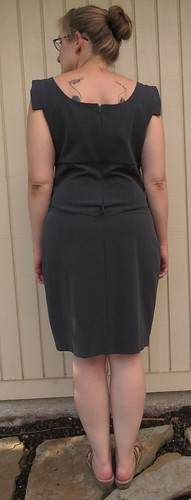 Grey Pencil Skirt - Before