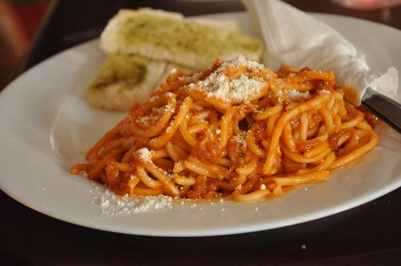 La Luna Grill Spaghetti