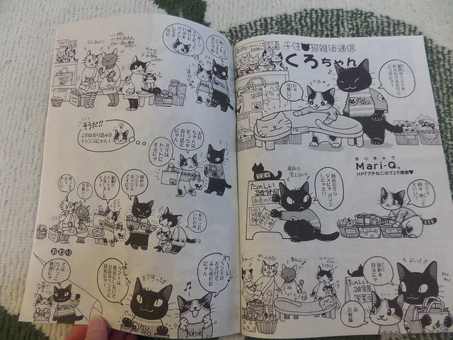 Japanese Cat Comic