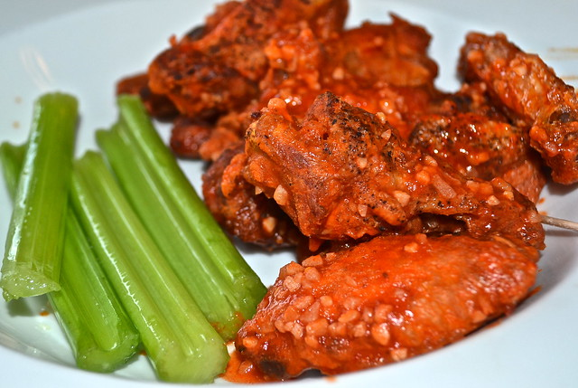 Ghost Pepper Buffalo Wings - Fenicci's Restaurant Hershey PA