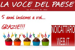 Noicattaro. Compleanno NoicattaroWeb 5 anni mod