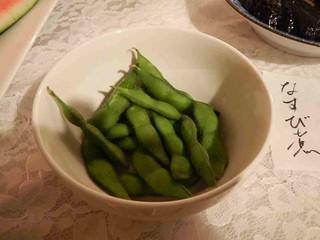 採れたての枝豆