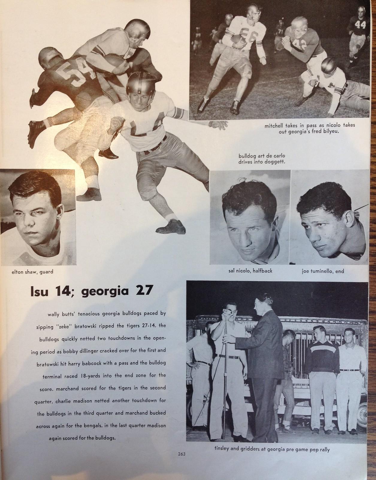 LSU 1952 Gumbo 2