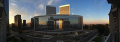 Golden Sunset at Century City, LA, CA