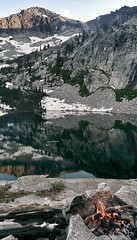 Fault Lake, Selkirk Mountains, Idaho