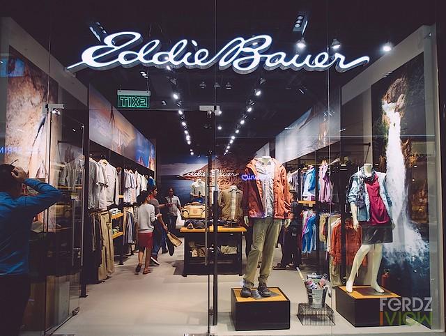 Eddie Bauer store in SM Aura Premiere