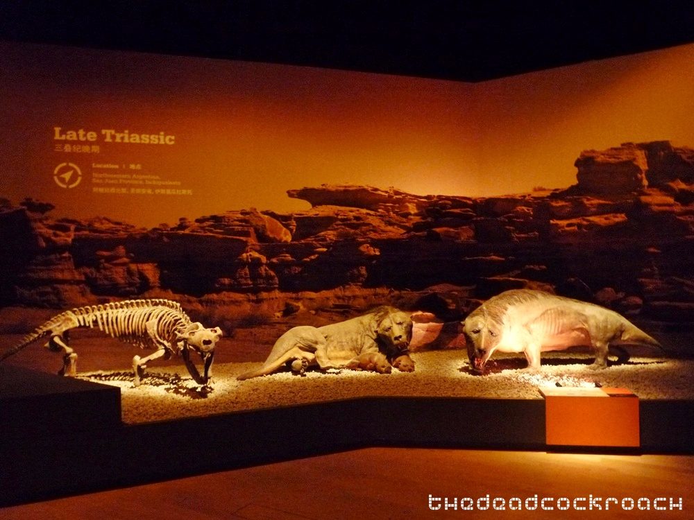 artscience museum, dawn to extinction, dinosaurs, exhibition, marina bay sands, mbs, singapore,exaeretodon