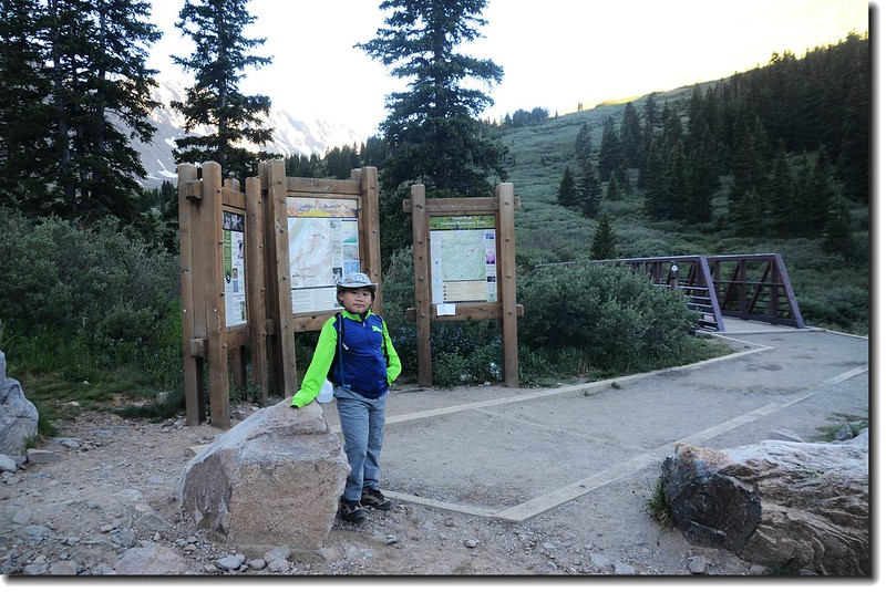Grays Peak Trailhead 1