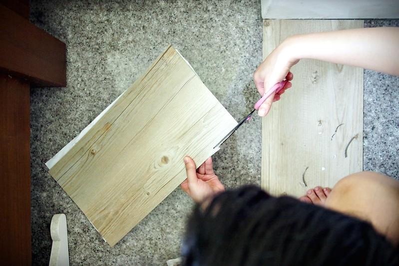 P7261876PRO特選特力屋塑膠地磚9x36吋2mm木紋763