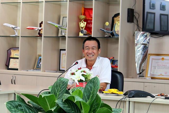 VietJet Managing Director Mr. Luu Duc Khanh