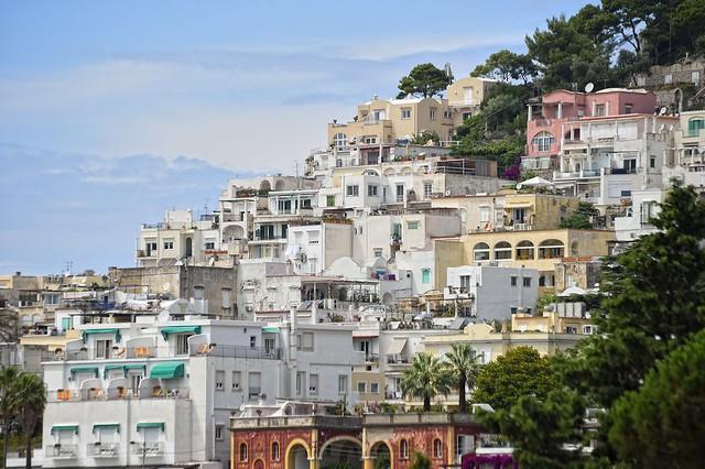 Capri hillside