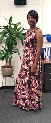 Flowered Maxi Dress