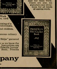"""Image from page 40 of """"The Priscilla smocking book, a collection of beautiful and useful patterns, with directions for working"""" (1916)"""