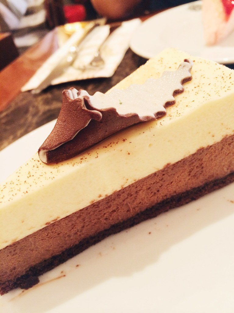 Vanilla and Chocolate Mousse | Harrods | August 2014