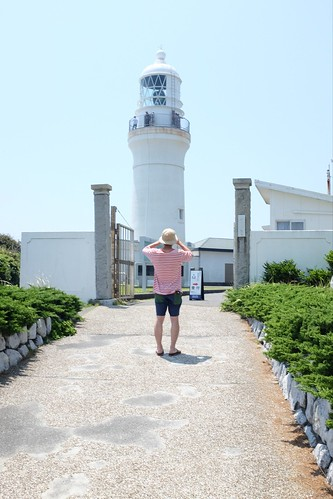 A lighthouse of Omaezaki.