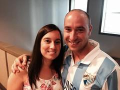 Yoli y Dani de Málaga