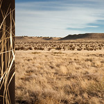 Brenda Biondo; Winter Grass High Plains; Archival pigment print; 25x49; 2012; Courtesy of Goodwin Fine Art -