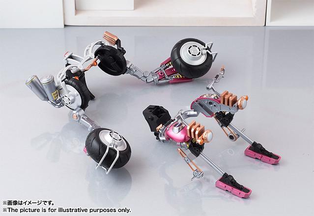 超級索尼子,出擊!AGP 超級索尼子 with 超級摩托車機器人 すーぱーそに子 with すーぱーバイクロボ (10th Anniversary Ver.)