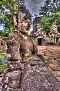 Image of Angkor Wat near Siem Reap. ankorarchaeologicalpark ankorwat cambodia hdr holidays mangojouneys photomatix topazlabs