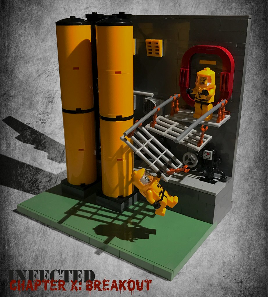 Infected – Chapter X: Breakout (custom built Lego model)