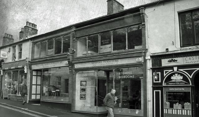 shop fronts, Clitheroe, Lancs., Canon POWERSHOT G12