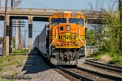 BNSF 9920   EMD SD70MAC   NS Forrest Yard