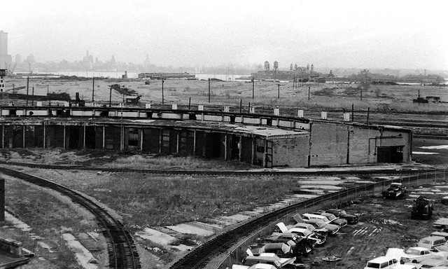 Spending a gorgeous day in Liberty State Park and beating the weekend crowd by arriving 42 years too early when the place was still REALLY fascinating! A horizon to horizon landscape of total abandonment. (even Ellis Island). Jersey City. March 1975