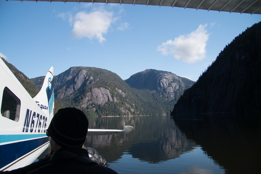 Landing on seaplane at Misty Fjords | Alaska Cruise Excursion