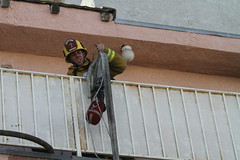 Aggressive Actions Stop Apartment Fire